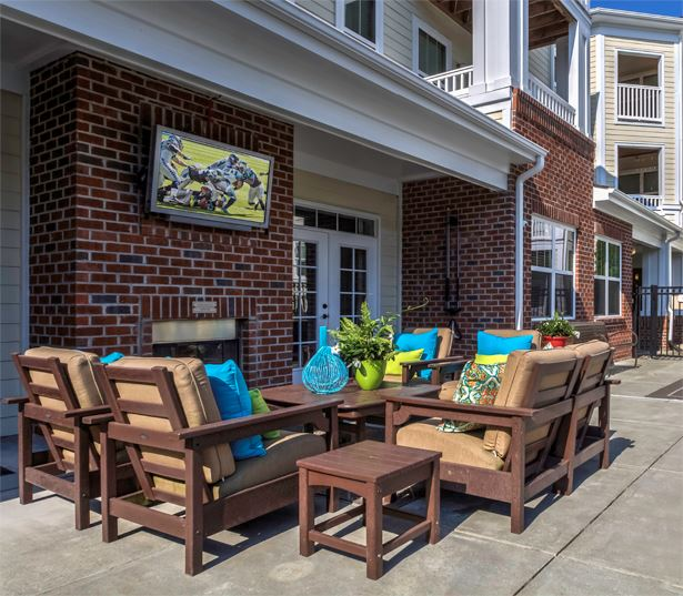 Chancery Village apartments in research triangle park durham nc - pool