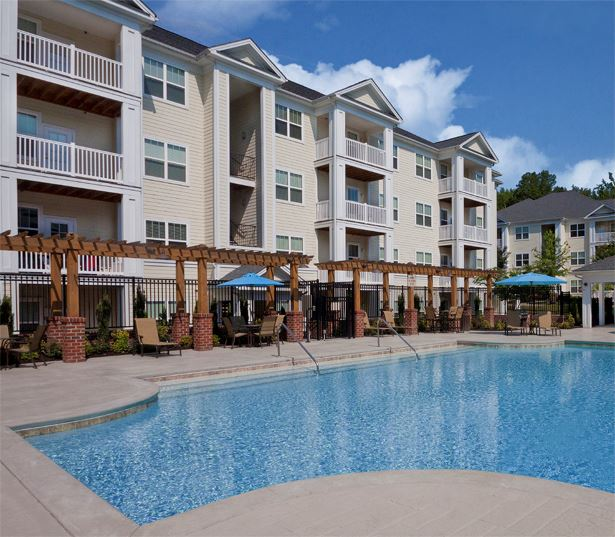 Chancery Village apartments in Parkside near Alston Ridge Elementary - pool
