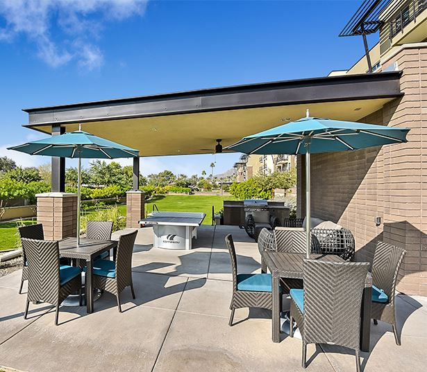 Citrine apartments in Arcadia, Arizona - Community park with grilling area