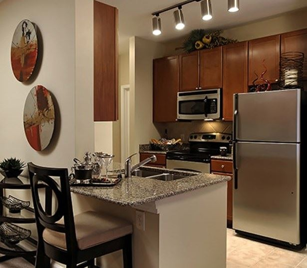 Chancery Village apartments in Southpoint - Modern kitchen and dining open floor plans