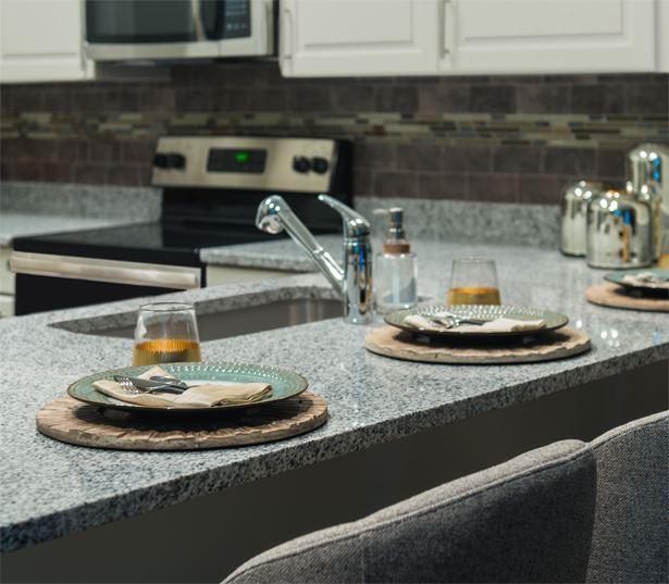 2700 Charlotte Granite Countertops With Tile Backsplash Nashville TN    Midtown