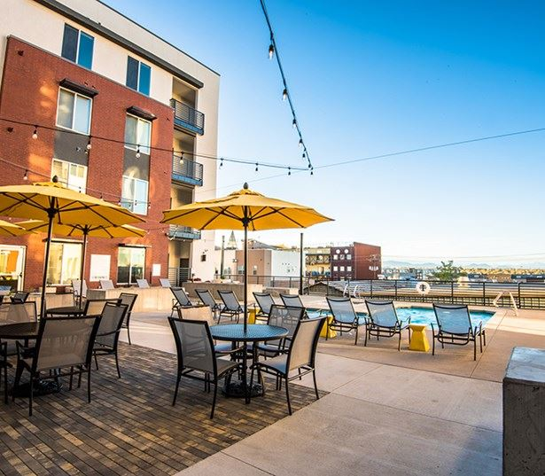 Hartley Flats Rooftop Lounge and Swimming Pool Denver CO - Downtown