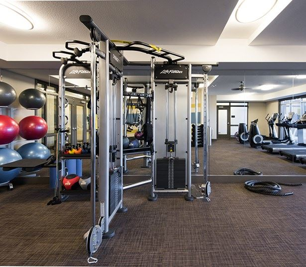 Hartley Flats Fully equipped fitness center Denver CO - Ballpark
