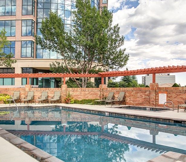 Carriage Place Two outdoor swimming pools Denver CO - Denver Tech Center
