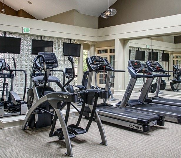 Carriage Place Fully equipped fitness center Denver CO - Greenwood Village