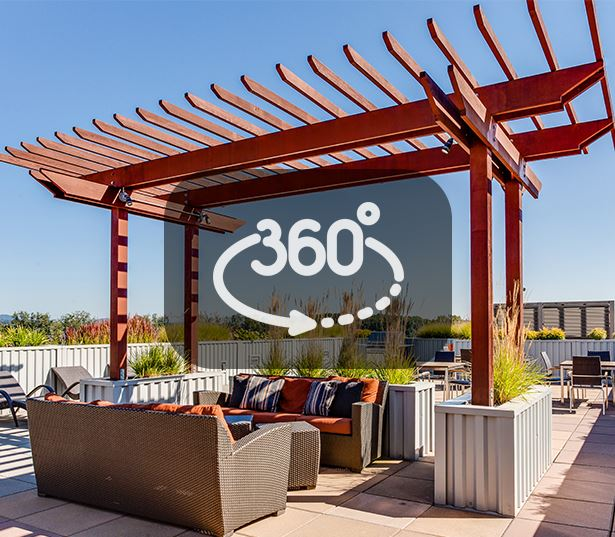 Portland, OR Apartments for rent near OHSU - The Matisse Rooftop lounge area