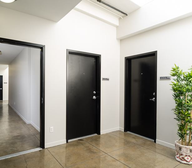 Historic Core apartments for rent in Los Angeles - Lofts at Security Building updated hallways