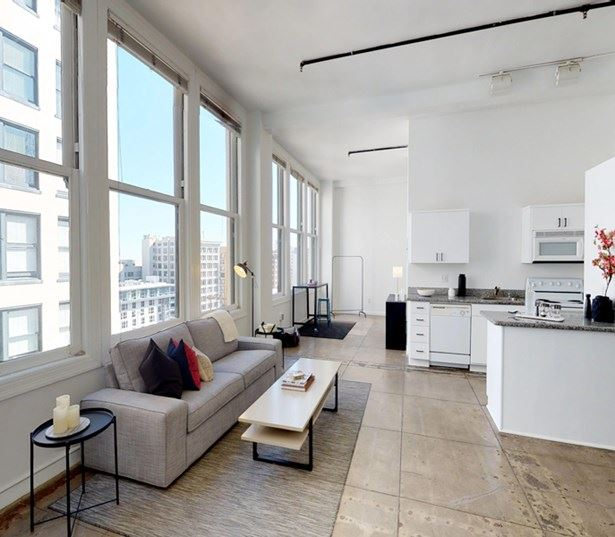 Pershing Square apartments in DTLA - Lofts At Security Building Spacious bright open floor plans