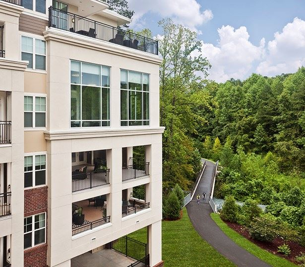 apartments near crabtree valley mall - Marshall Park Located directly on the Greenway