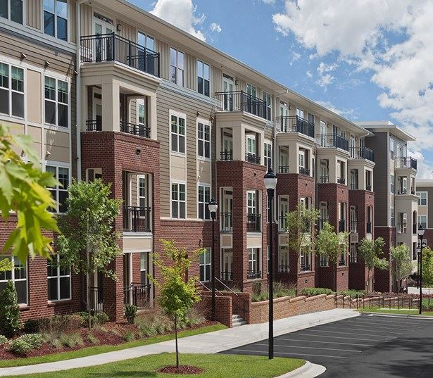 Downtown Raleigh Apartments for rent near Citrix - Marshall Park Apartments Building Exterior