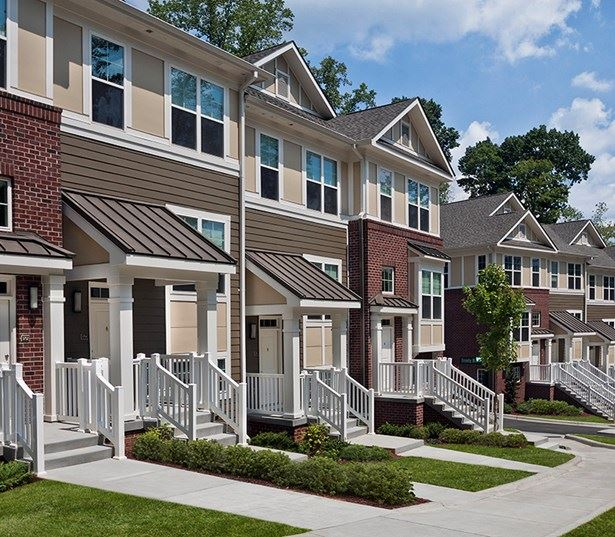 Central Raleigh Apartments for rent in North Hills - Marshall Park 2 Bedroom Townhomes available