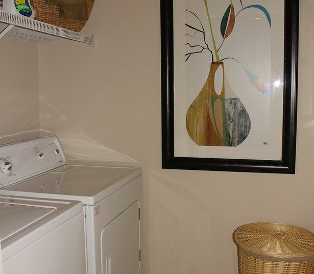 The Madison offers full size washer and dryer in every home Richmond VA - Henrico