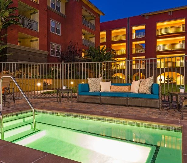 Naval Base Coronado apartments for rent - Mira Bella Outdoor Spa