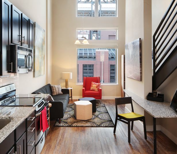 The Battery on Blake Street Two-story penthouses - Apartments for Rent in Downtown Denver