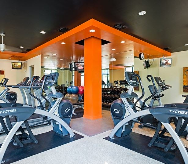 Washington County Apartments for Rent - Nexus fully equipped fitness center with free weights