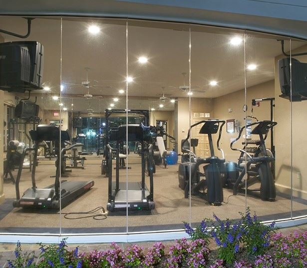 Ballantyne apartments Charlotte NC - Promenade Park - 24 hour fitness center