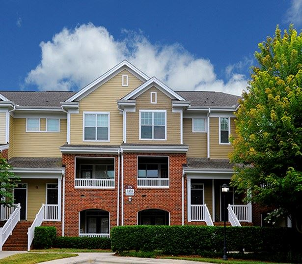 Promenade Park Townhomes separate entrances and optional garages Charlotte NC - Stonecrest