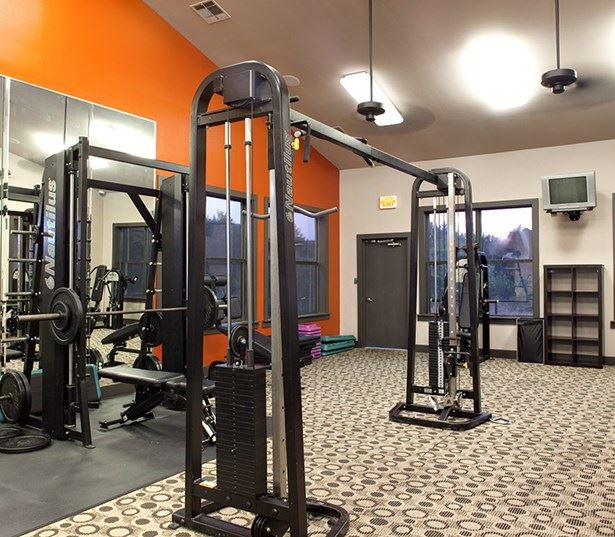 Slaughter Lane apartments in South Austin - Ridgeview Fully equipped fitness center