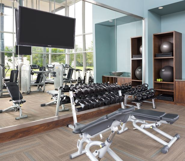 The Icon at Ross - fitness and training center - Uptown Dallas Apartments