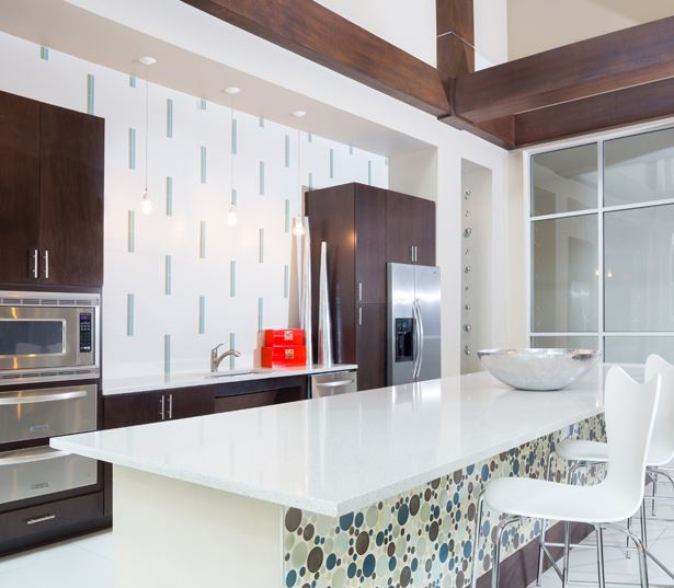 The Icon at Ross - serving kitchen - Apartments in 75236