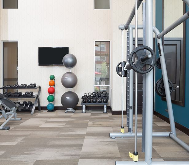 Strata Apartments - Fitness center - Apartments in Dallas TX