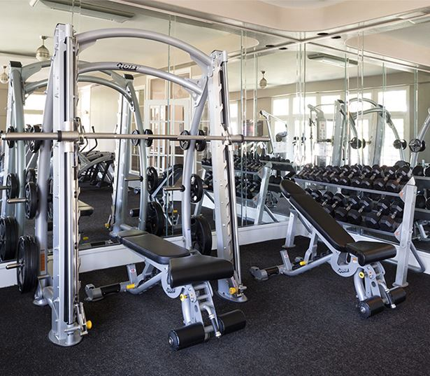 Villas at Stonebridge Ranch - fitness center - Downtown McKinney Apartments