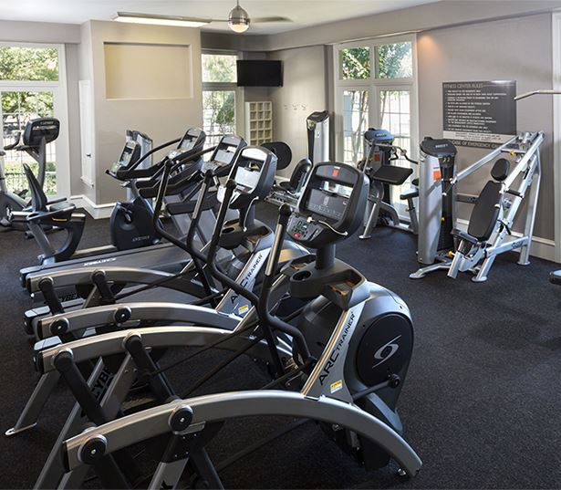 Villas at Stonebridge Ranch - Fitness center - Stonebridge Ranch Apartments in McKinney