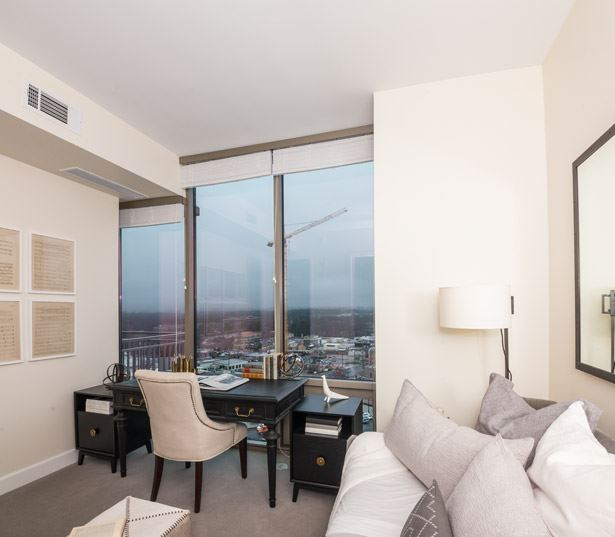 West Paces Road apartments for rent in Midtown - The Residence Buckhead Atlanta views