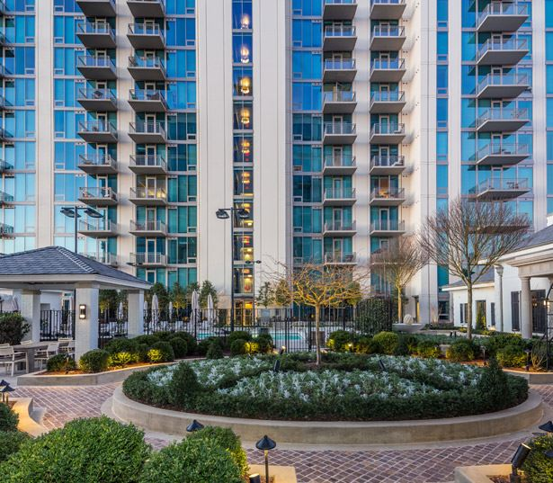 The Residence Buckhead Atlanta apartments for rent in Midtown - BBQ area