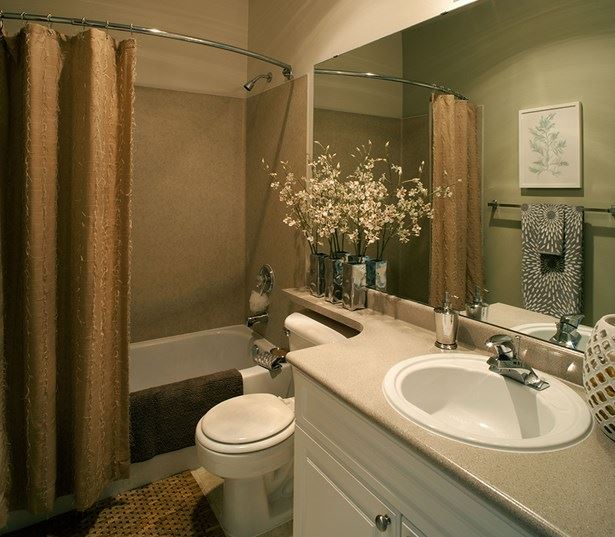 Gilman apartments near Boeing - The Timbers at Issaquah Ridge Built in under sink bathroom storage