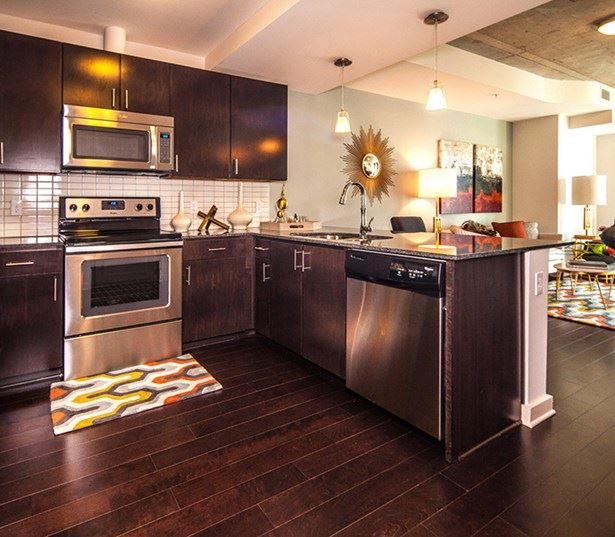 SkyHouse Dallas - Kitchen - High Rise Apartments Uptown Dallas