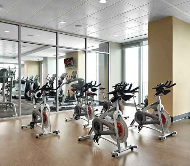 SkyHouse Nashville Apartments for rent - Nashville, TN - fitness studio