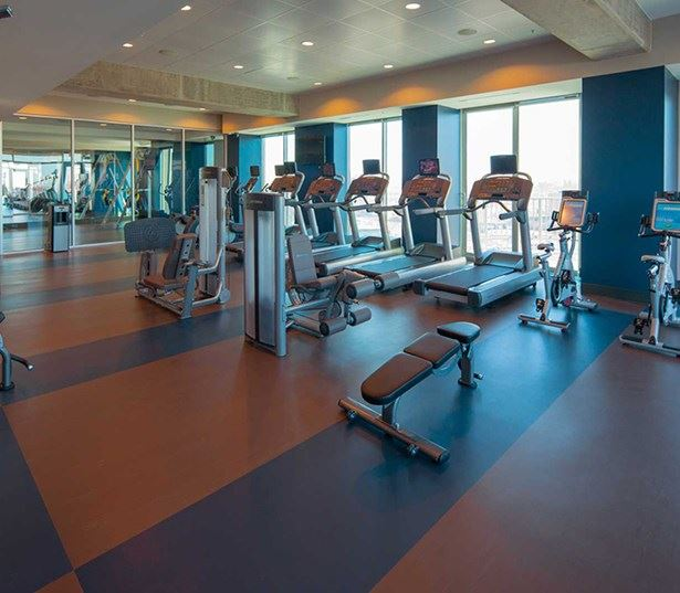 SkyHouse Dallas - Fitness center - Victory Park Dallas Apartments