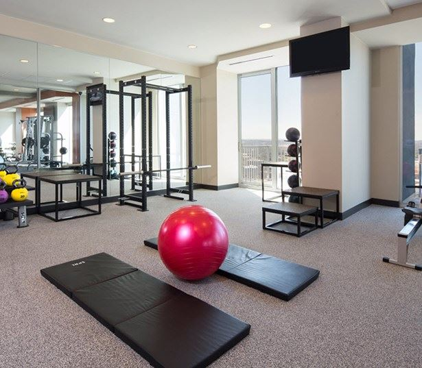 SkyHouse Austin apartments for rent downtown - State of the art fitness center
