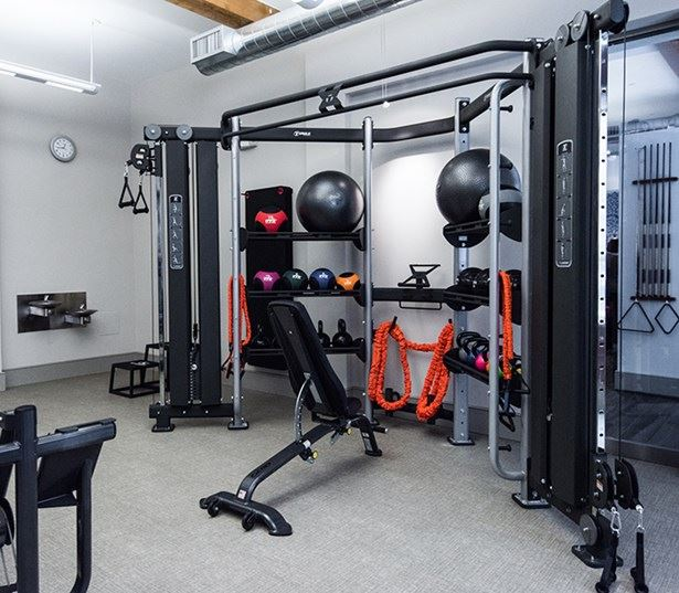 Golden Triangle apartments for rent in Denver - The Boulevard Apartments fitness center