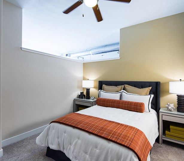 Capitol Hill apartments in Denver - The Boulevard Apartments Spacious loft style bedrooms