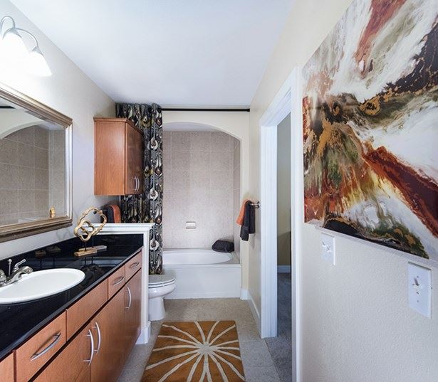 Golden Triangle apartments for rent - The Boulevard Apartments Modern bathrooms