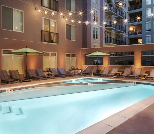 The Battery on Blake Street Resort-style pool - Denver, CO Apartment Rentals