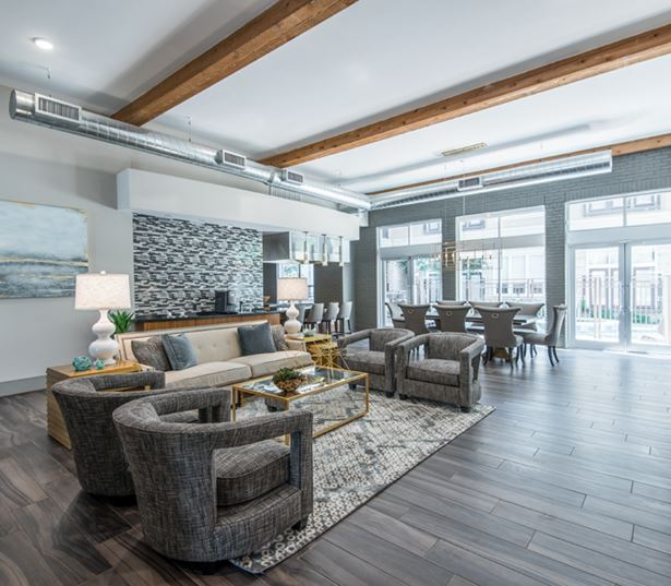 Downtown Denver apartments for rent - The Boulevard Apartments Resident lounge