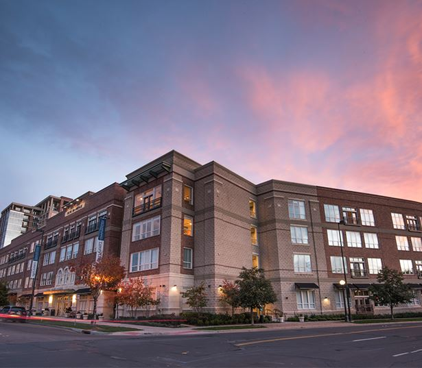 Golden Triangle apartments for rent in Denver - The Boulevard Apartments Building Exterior