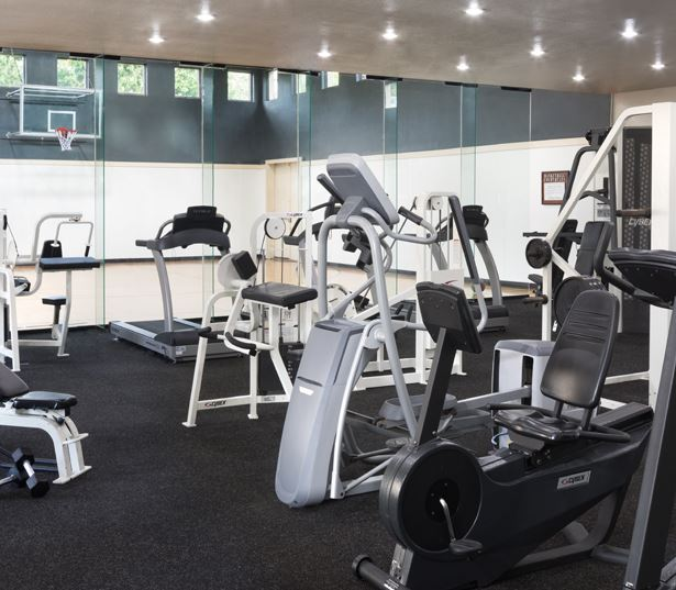 Round Rock apartments for rent - The Ranch Apartments - Fitness center