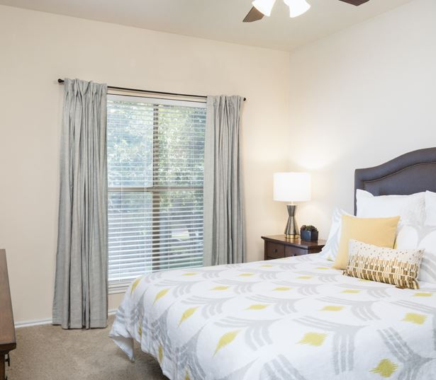 Apartments in Cedar Park - The Ranch Apartments - Master bedroom