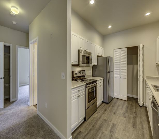 Issaquah Highlands apartments near Microsoft - The Timbers at Issaquah Ridge upgraded interiors