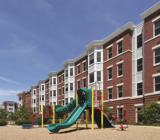 The Reserve At Tysons Corner outdoor playground - Apartments in Tysons Corner VA near Fannie Mae