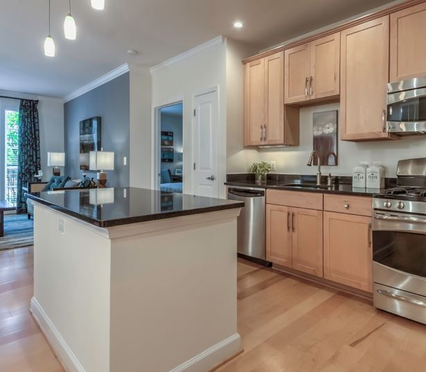 Vienna apartments near Capital One - The Reserve at Tysons Corner Gourmet kitchens