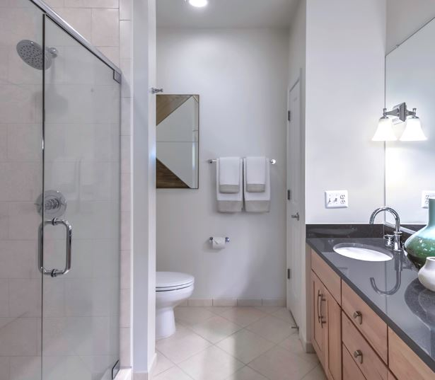 Tysons Corner apartments for rent - The Reserve at Tysons Corner Spa bathrooms
