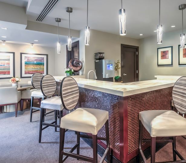 Tysons Corner apartments - The Reserve at Tysons Corner Entertainment bar