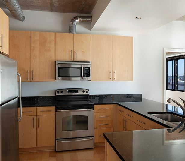 Zoso Flats - Modern Kitchen - Arlington, VA Apartments - Clarendon-Courthouse
