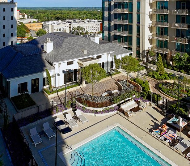 The Residence Buckhead Atlanta apartments for rent in Midtown - swimming pool