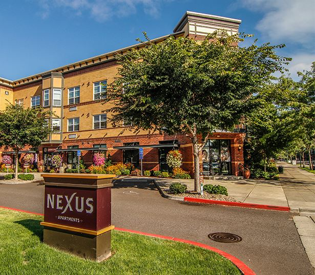 Nexus At Orenco Station apartments for rent in the Platform District - on-site retail